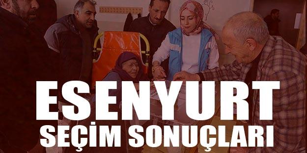 Esenyurt seçim sonuçları 2019 İstanbul Esenyurt'ta hangi parti kazandı