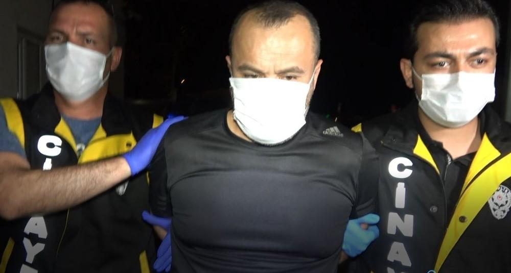 Eşini öldüren katil zanlısı koca Bursa'ya getirildi