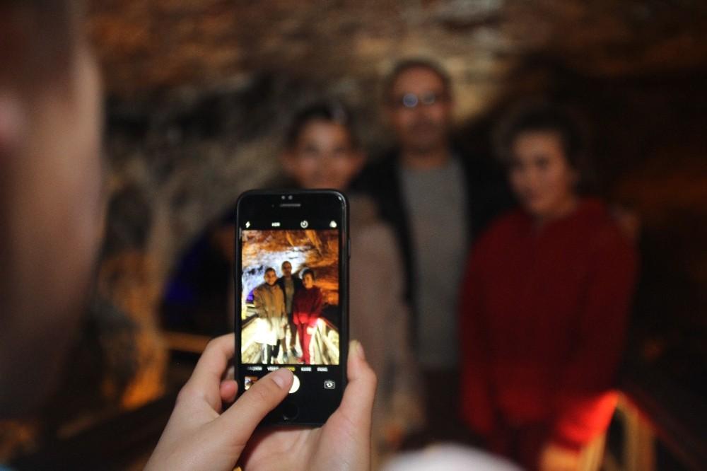 Eski kurşun madeni ocağı ziyaretçilerini ağırlıyor