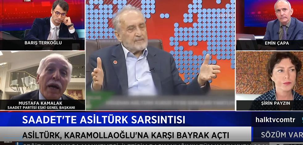 Eski Saadet'in Başkanı Kamalak'tan skandal sözler! CHP'ye 'payandalığı' Kur'an'a uygun, Asiltürk'ün sözlerini ise Kur'an'a aykırı buldu!