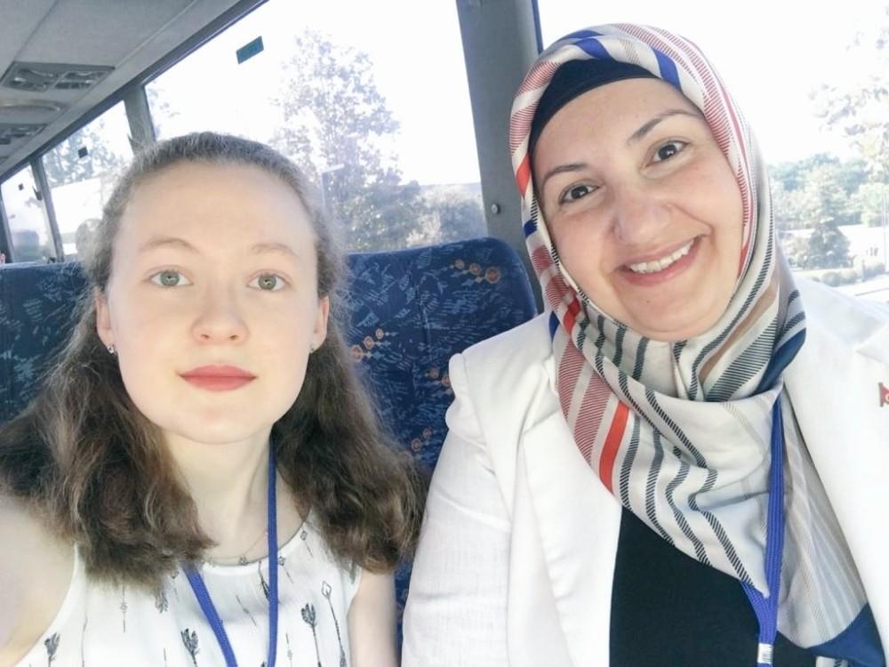 Eskişehir Fatih Fen Lisesi öğrencisi Funda Eskişehir'in gururu oldu