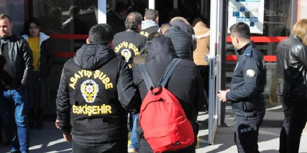 Eskişehir merkezli 4 ilde fuhuş operasyonu! 16 gözaltı