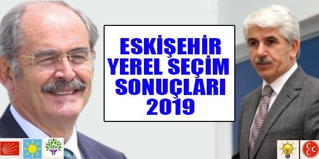 Eskişehir yerel seçim sonuçları 2019 Cumhur ittifakı Millet ittifakı oy oranları | Eskişehir ve ilçeleri yerel seçim sonuçları