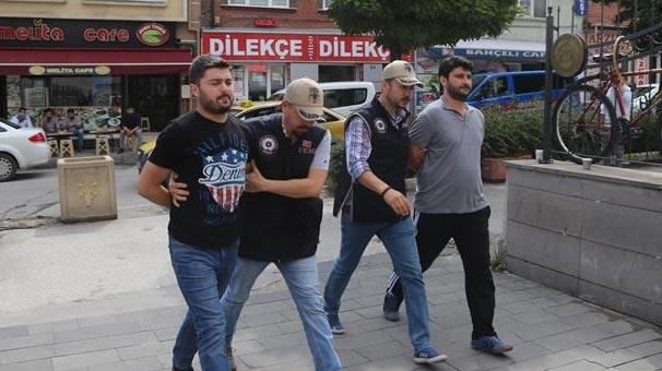 Eskişehir'de 8 FETÖ şüphelisi enselendi