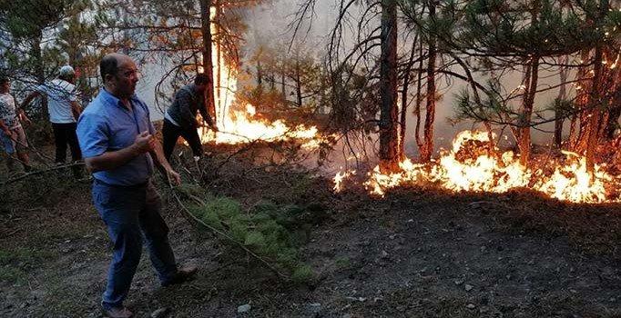 Eskişehir'de orman yangını: 15 saatte...