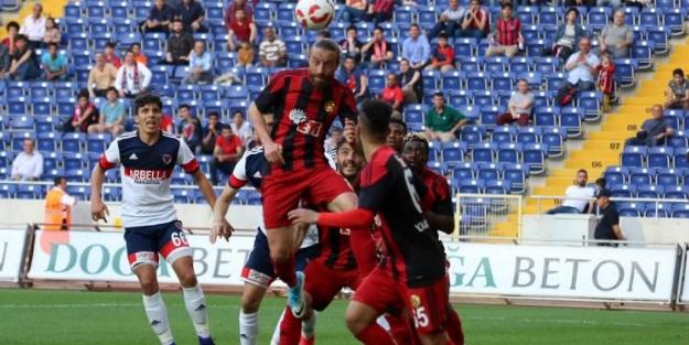 Eskişehirspor deplasmanda coştu