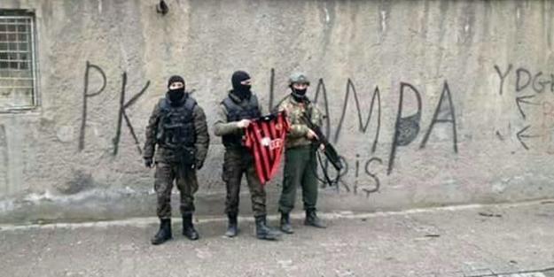 Özel Harekatçılardan Süper Lig takımına destek