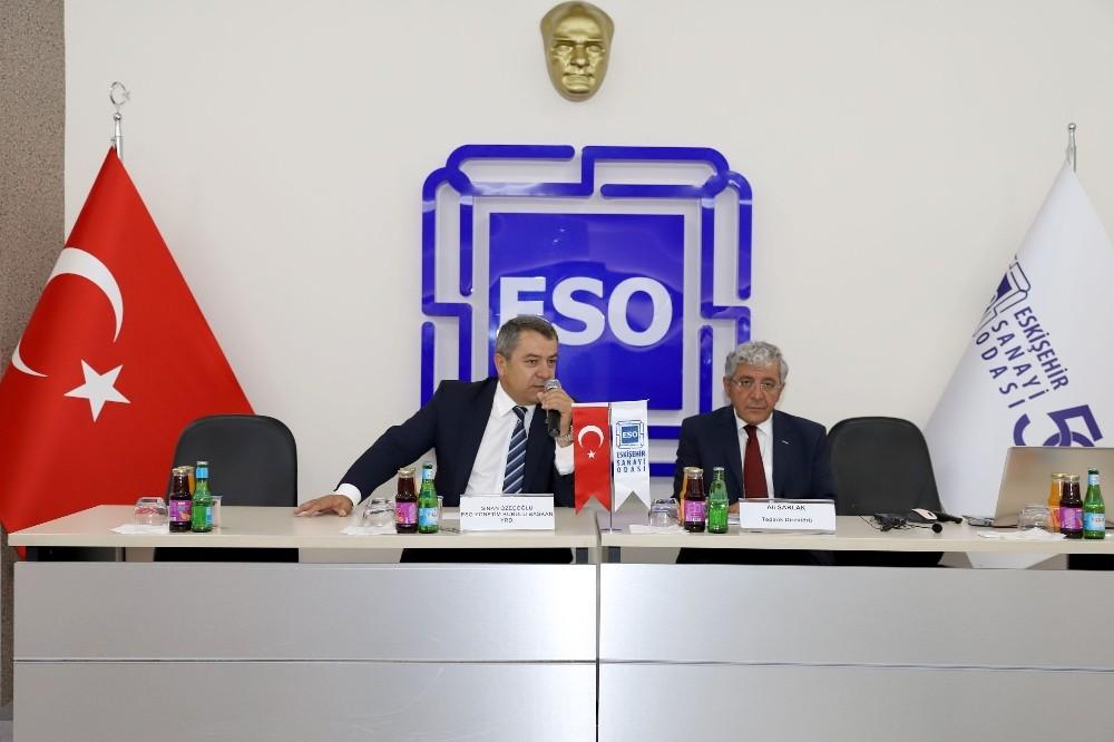 ESO üyeleri Roketsan yöneticileri ile buluştu