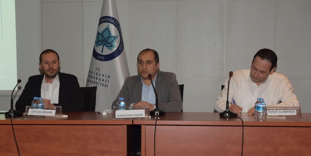 """ESOGÜ'de """"Suriye Krizinde Türkiye"""" paneli"""