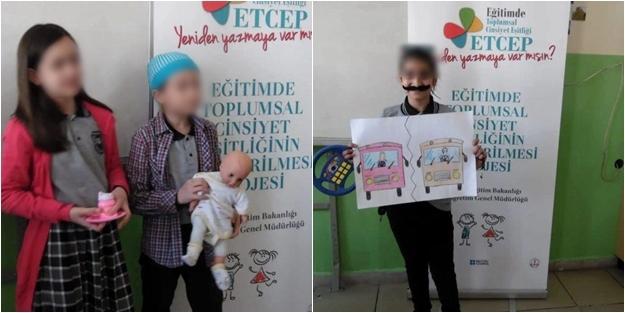 ETCEP projesi ile çocuklara 'eşcinsel' sapkınlık aşılanıyor!