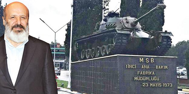 Ethem Sancak: Arifiye'de tank yapılacak