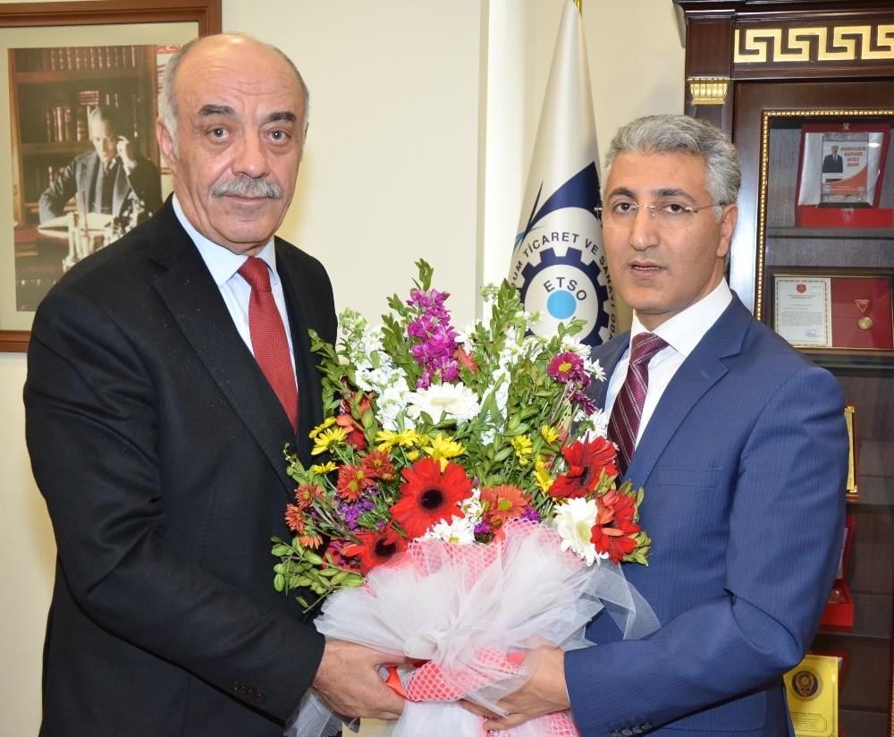 ETSO Başkanı Yücelik'e Vergi Haftası ziyareti