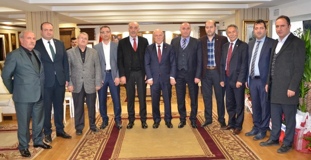 ETSO'dan belediye başkanlarına tebrik ziyareti
