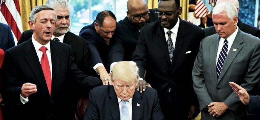Evanjelikler'den Trump'a tepki