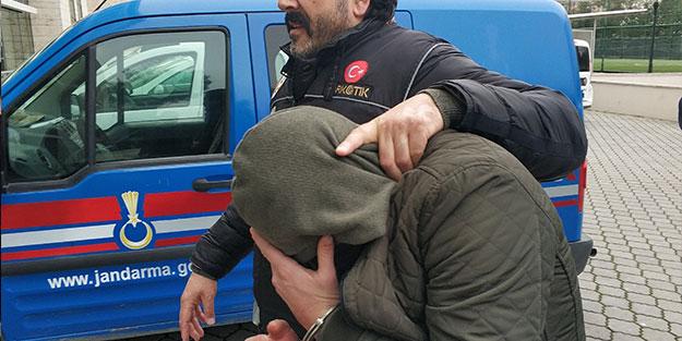 Evinde bulunanlar nedeniyle tutuklandı