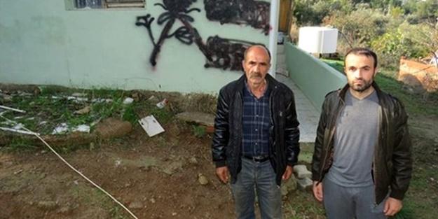 Evinin duvarı işaretlenen Alevi aile ilk kez konuştu: Çok çirkin bir hareket