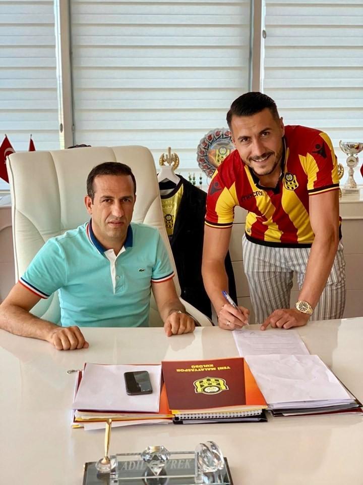 Evkur Yeni Malatyaspor, Jahovic ile 2+1 yıllık sözleşme imzaladı
