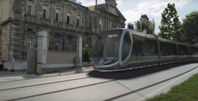 Eyüpsultan trafiğini rahatlatacak tramvay geliyor