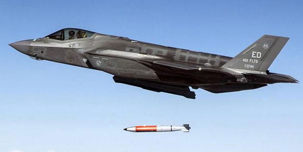 F-35 savaş uçağında 'nükleer bomba' testi