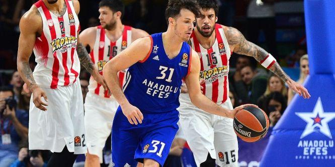 Anadolu, Olympiakos ile eşleşti