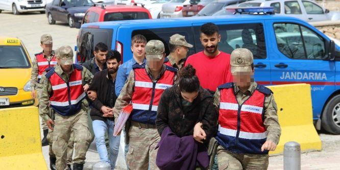 Elazığ'daki terör operasyonu: 2 tutuklama