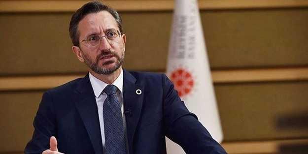 Fahrettin Altun: Adil çözüm için tarihi bir konuşma