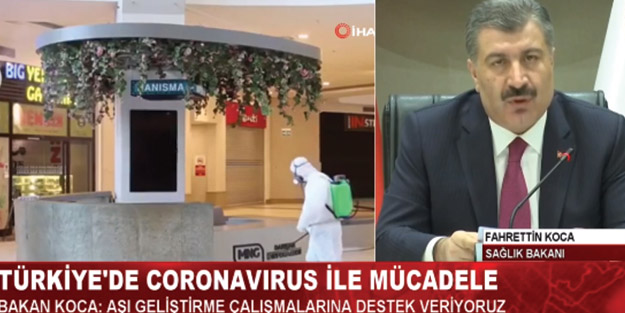 Fahrettin Koca'dan flaş açıklama