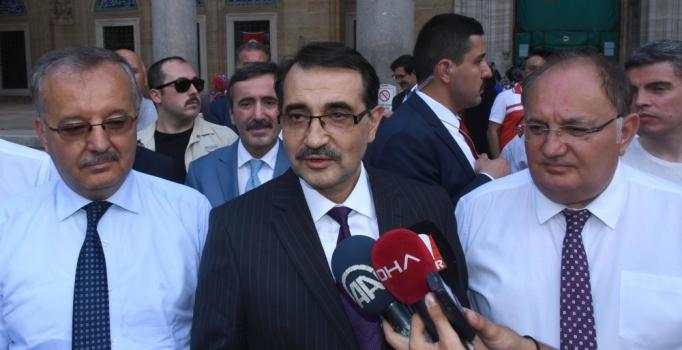 Fatih Dönmez: Edirne'nin tüm ilçeleri doğalgaza kavuşacak