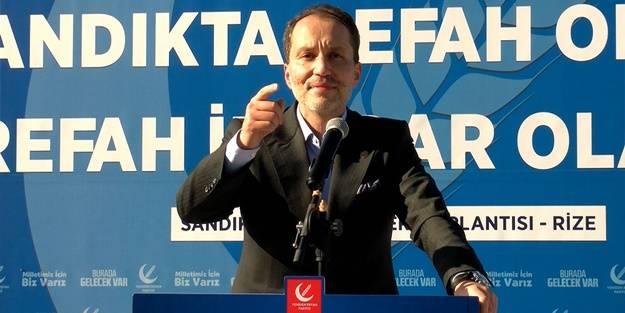 Fatih Erbakan'dan flaş uyarı: Cilalanıp parlatılan bu muhalefet partileri iktidara gelirse...