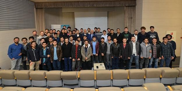 Fatih Gençlik Vakfı İstanbul Üniversitesi Rektörü Prof. Dr. Mahmut Ak'ı misafir etti