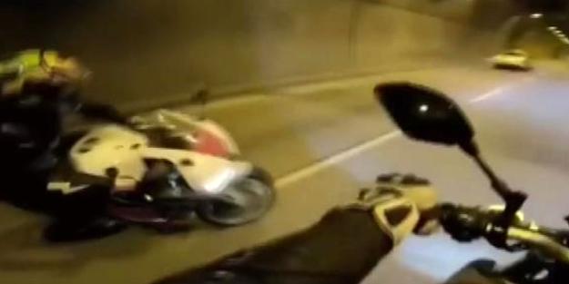 Fatih Sultan Mehmet Köprüsü'nde 'tek teker' hayatına mal oldu