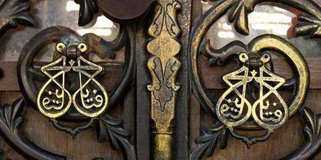 Fatih Sultan Mehmet'in Ayasofya Camii kapı tokmağındaki sırrı