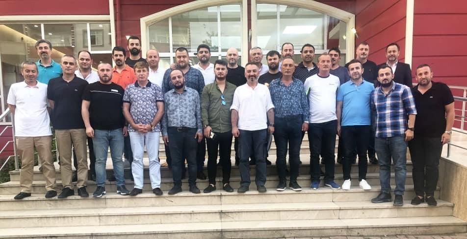 Fatsa Belediyespor'da görev dağılımı