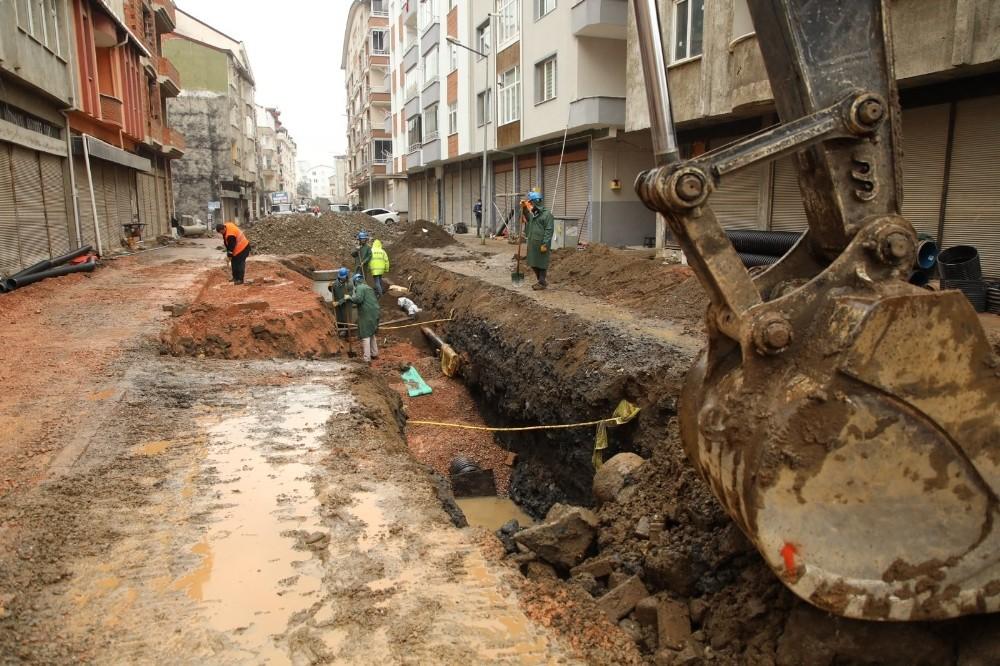 Fatsa'da 3,5 milyon TL maliyetli alt yapı çalışması devam ediyor