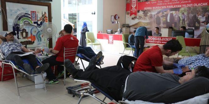 Gürsu'da kan bağışı seferberliği