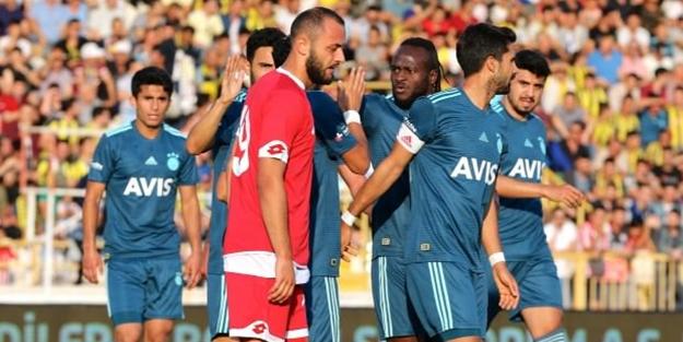 Fenerbahçe ilk hazırlık maçında zorlanmadı