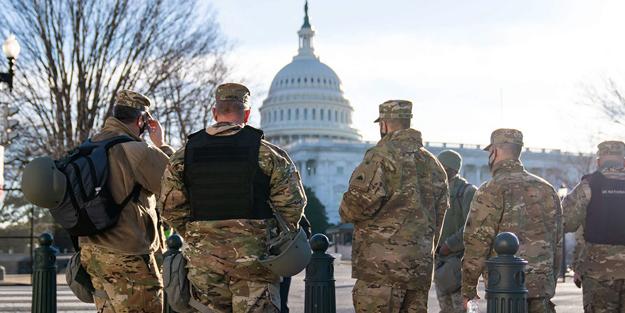 FBI tespit etti! Yemin törenindeki askerler görevinden alındı