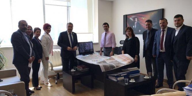 Başkan Çerçi Ankara'da temaslarda bulundu