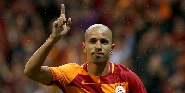 Feghouli'den Fenerbahçe gönderme: Dün akşam Kadıköy'de...