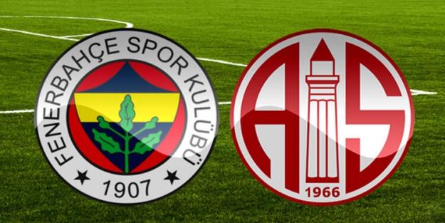 Fenerbahçe- Antalyaspor maçı kaç kaç bitti? Fenerbahçe- Antalyaspor maç sonucu