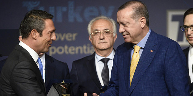 Fenerbahçe Başkanı Ali Koç: Erdoğan'ı tebrik ediyorum