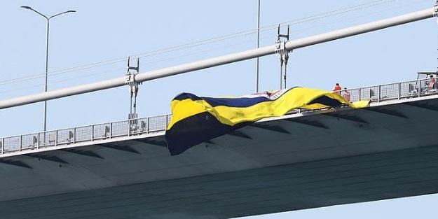 Fenerbahçe bayrağına yapılan saldırıda 4 gözaltı