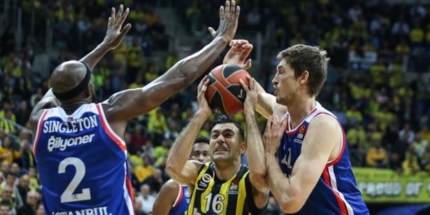 Fenerbahçe Beko Anadolu Efes basket maçı kaç kaç bitti?