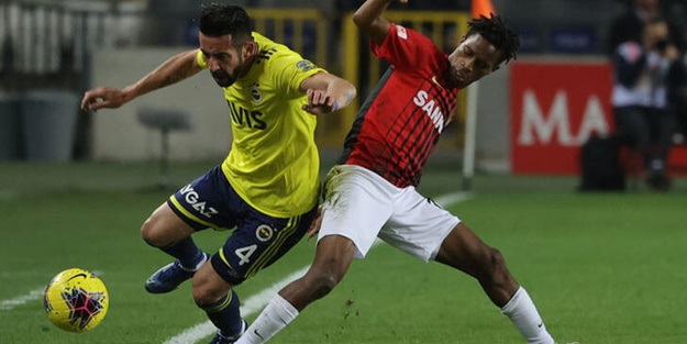Fenerbahçe Gaziantep maçı kaç kaç bitti? Fenerbahçe Gaziantep FK maç sonucu