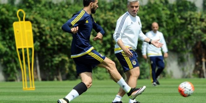 Fenerbahçe, Gençlerbirliği maçı hazırlıklarını sürdürdü