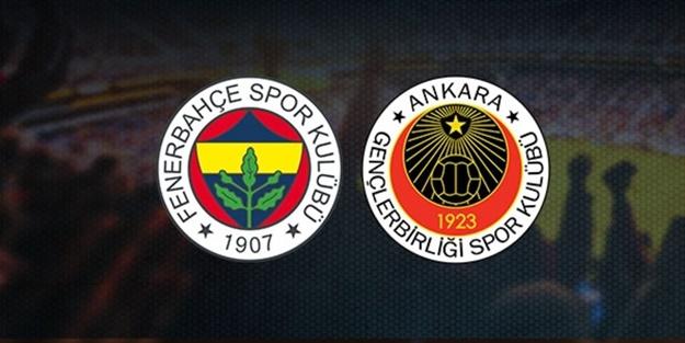 Fenerbahçe Gençlerbirliği maçı muhtemel 11'leri