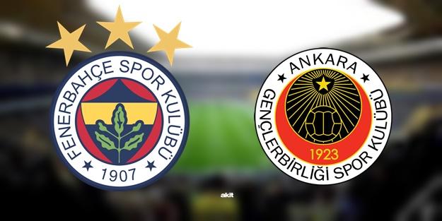 Fenerbahçe Gençlerbirliği maçı ne zaman, saat kaçta, hangi kanalda?