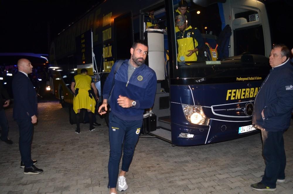 Fenerbahçe kafilesi Kırklareli'nde