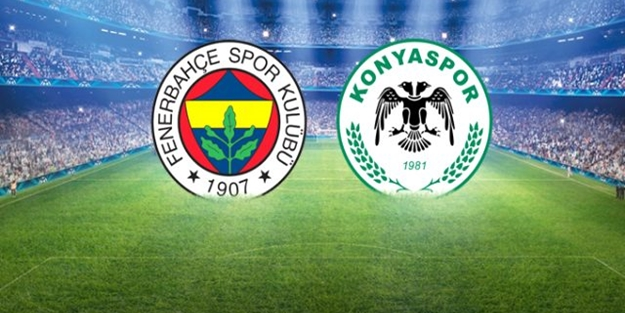 Fenerbahçe Konyaspor maçı kaç kaç bitti? Fenerbahçe Konyaspor maç sonucu