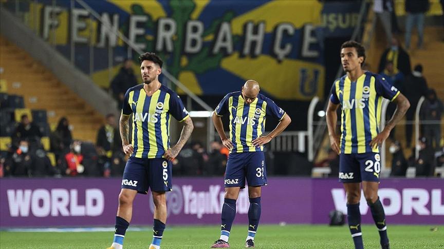 Fenerbahçe ligde üst üste 2. mağlubiyetini yaşadı